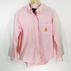 Lauren Ralph Lauren | Womens Pink Button Down 12